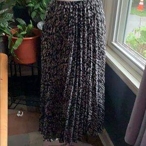 Lane Bryant soft pleaded skirt